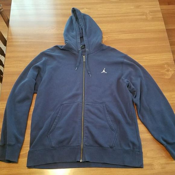 0a6acbb9433f12 Jordan Other - Navy blue Air Jordan zip up sweatshirt